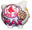 Custom Baseball Team Piggy Bank (Team & color choice)