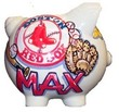Custom Baseball Team Piggy Bank (Team & color choice)