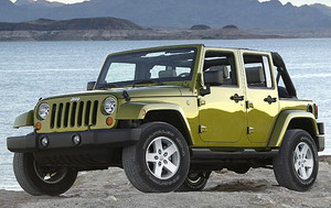 2007 Jeep Wrangler Unlimited Sahara 4WD  - 30098B
