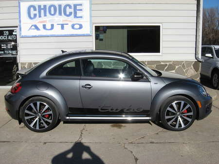 2014 Volkswagen Beetle Coupe 2.0T Turbo R-Line w/Sun/Sound/Nav for Sale  - 160594  - Choice Auto