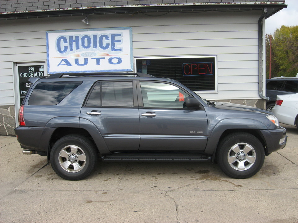 2004 Toyota 4Runner  - Choice Auto