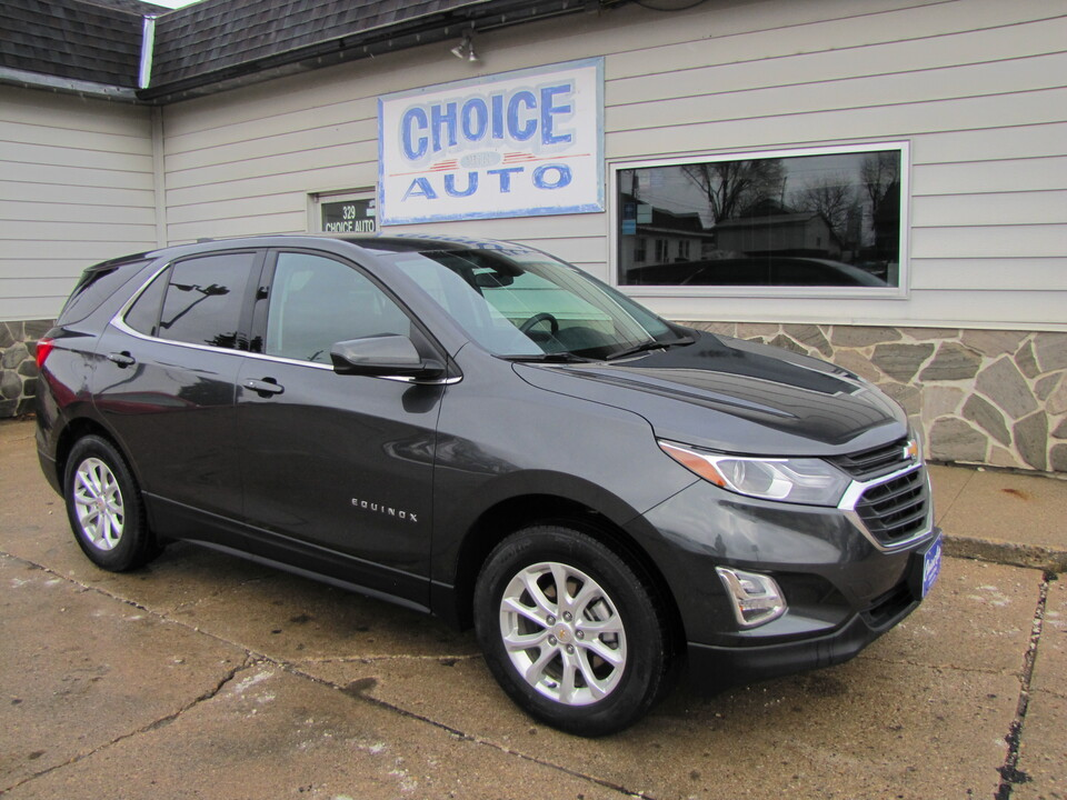 2018 Chevrolet Equinox LT  - 161289  - Choice Auto