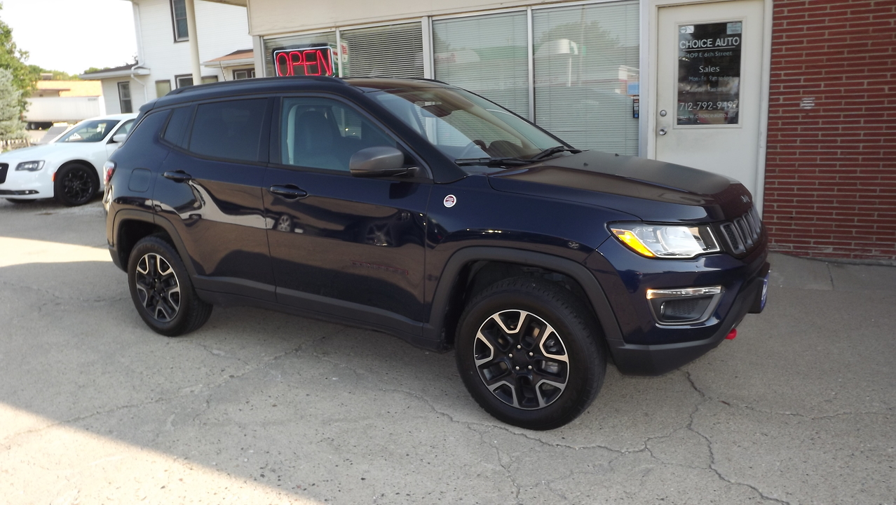 2019 Jeep Compass Trailhawk  - 161168  - Choice Auto