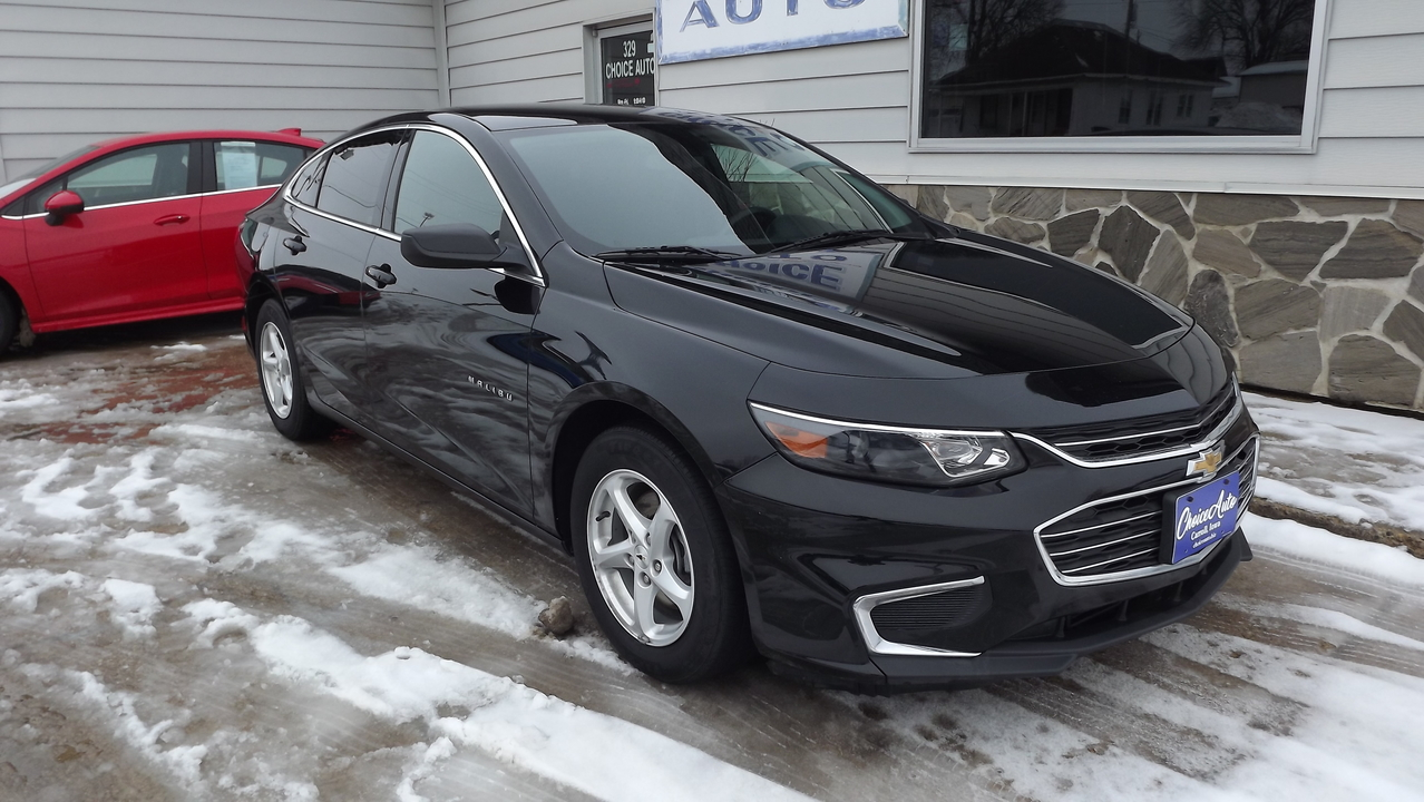2016 Chevrolet Malibu LS  - 160973  - Choice Auto