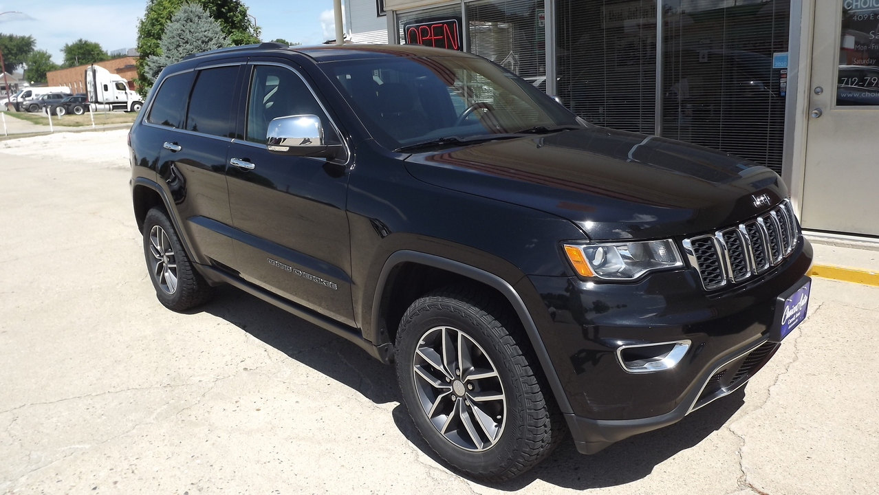 2017 Jeep Grand Cherokee Limited  - 161141  - Choice Auto