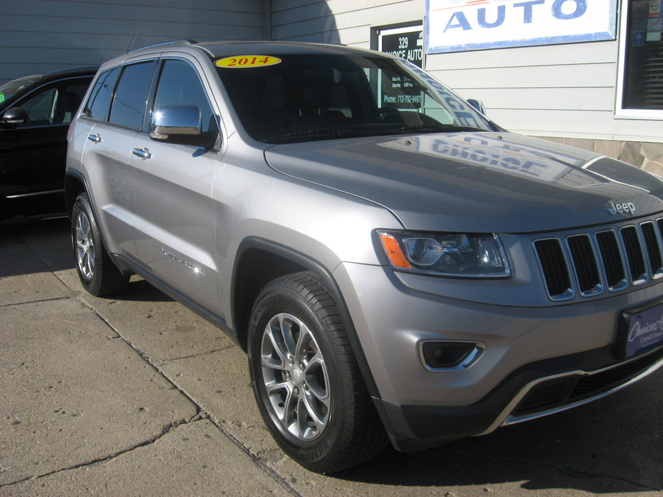 2014 Jeep Grand Cherokee Limited 4X4, ONE OWNER!