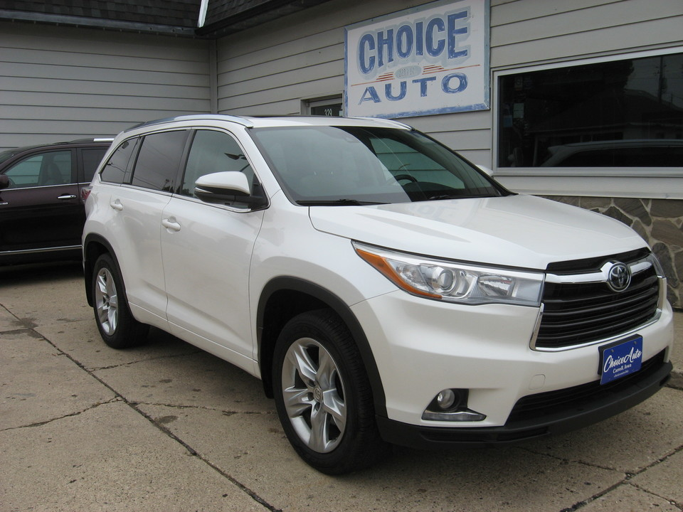 2015 Toyota Highlander Limited Platinum  - 161191  - Choice Auto