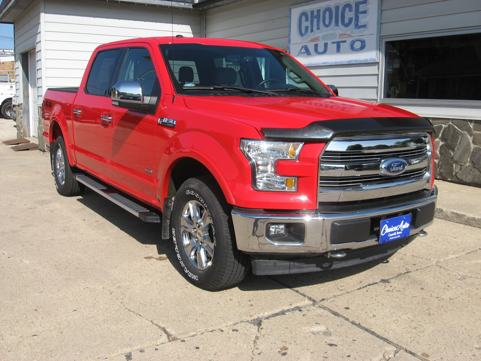 2017 Ford F-150 Lariat  - 161192  - Choice Auto