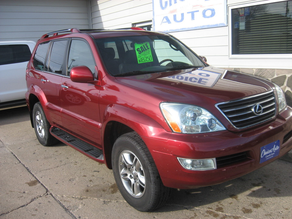 2008 Lexus GX 470 4X4,3RD ROW SEATING!
