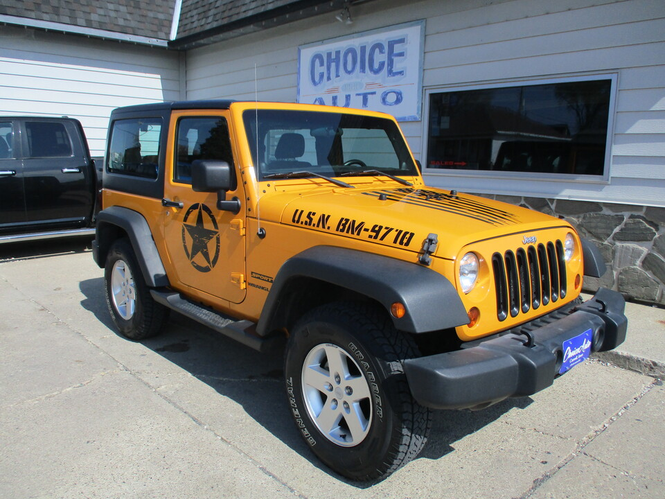 2012 Jeep Wrangler Sport  - 161494  - Choice Auto