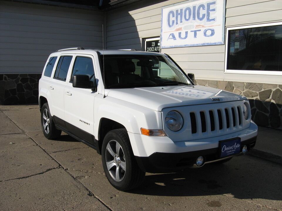 2016 Jeep Patriot High Altitude Edition  - 16851  - Choice Auto