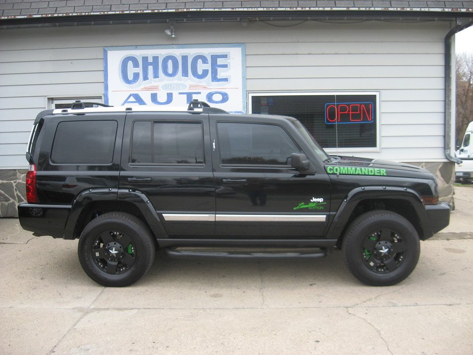 9 Passenger Suv >> 2006 Jeep Commander Limited - Stock # 160318 - Carroll, IA 51401