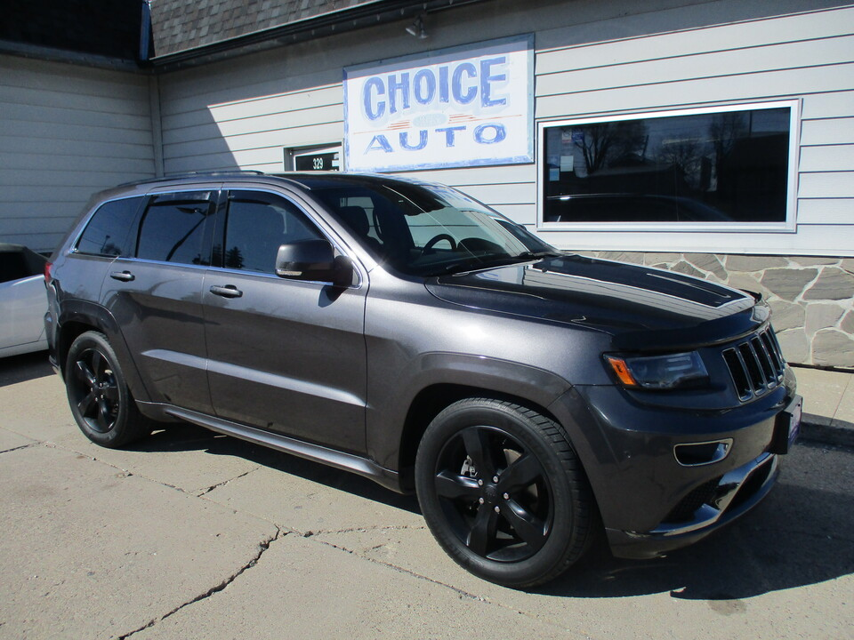 2016 Jeep Grand Cherokee Overland  - 161385  - Choice Auto