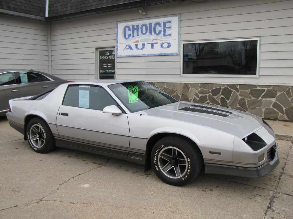 1986 Chevrolet Camero Z-28  - Choice Auto