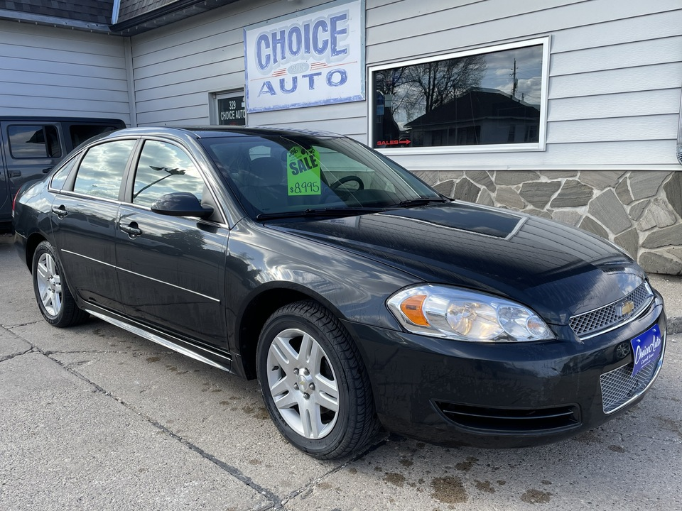 2016 Chevrolet Impala Limited LT  - 161374  - Choice Auto