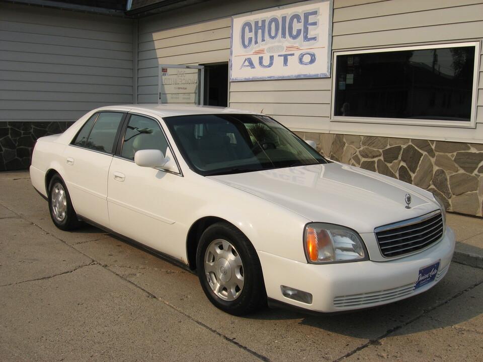 2002 Cadillac DeVille  - 161219  - Choice Auto