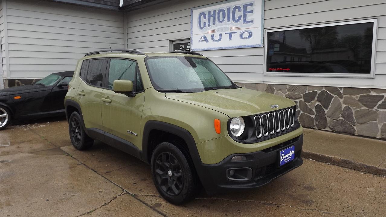 2015 Jeep Renegade Latitude  - 161530  - Choice Auto