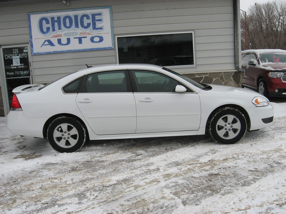 2010 Chevrolet Impala  - Choice Auto