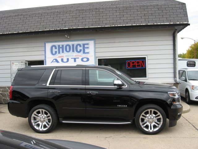 2015 chevrolet tahoe ltz stock 160058 carroll ia 51401 2015 Chevy Tahoe Accessories 2015 chevrolet tahoe ltz 4x4 upgraded chrome wheels