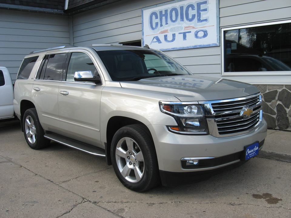 2015 Chevrolet Tahoe LTZ  - 161198  - Choice Auto