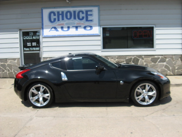 2009 nissan 370z touring stock 160228 carroll ia 51401. Black Bedroom Furniture Sets. Home Design Ideas