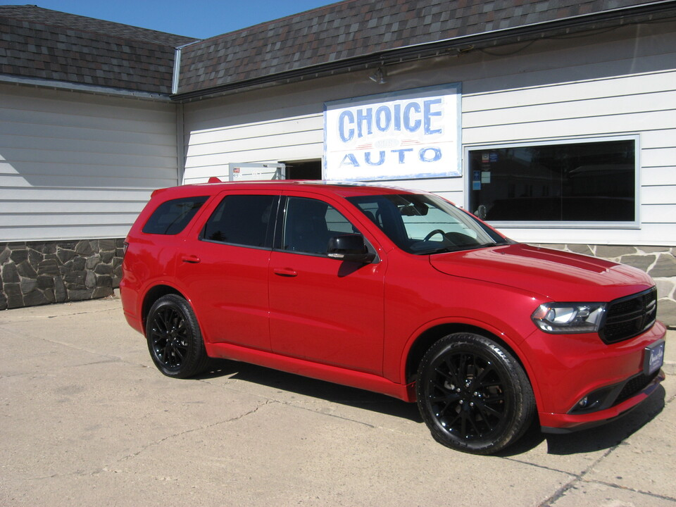 2015 Dodge Durango R/T  - 161215  - Choice Auto