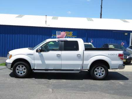 2010 Ford F-150 Lariat SuperCrew 4x4 navigation sunroof for Sale  - A33161P  - Kars Incorporated