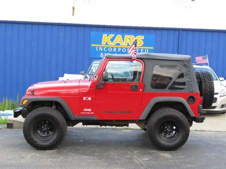 2003 Jeep Wrangler LIFTED NEW TIRES for Sale  - 354784P  - Kars Incorporated