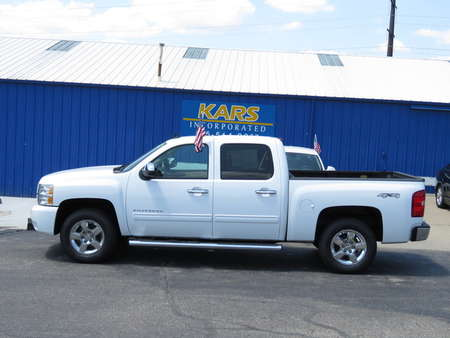 2013 Chevrolet Silverado 1500 LTZ 4WD leather Crew Cab for Sale  - D99700P  - Kars Incorporated