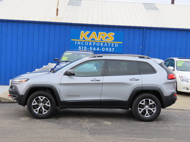 2014 Jeep Cherokee Trailhawk 4WD  - E56696P  - Kars Incorporated
