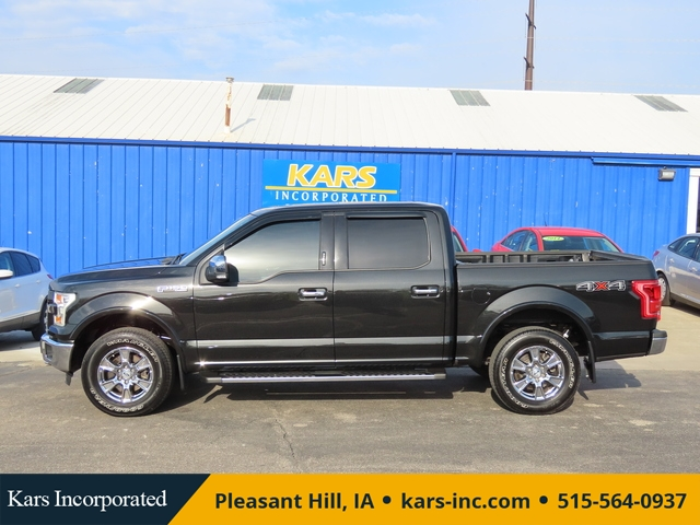 2015 Ford F-150 Lariat 4WD SuperCrew  - F25054  - Kars Incorporated