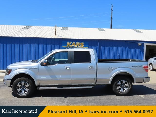 2012 Ford F-150 SUPERCREW 4WD  - C13923  - Kars Incorporated