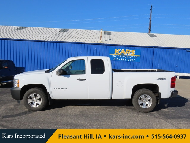 2013 Chevrolet Silverado 1500 Work Truck 4WD Extended Cab  - D89389P  - Kars Incorporated