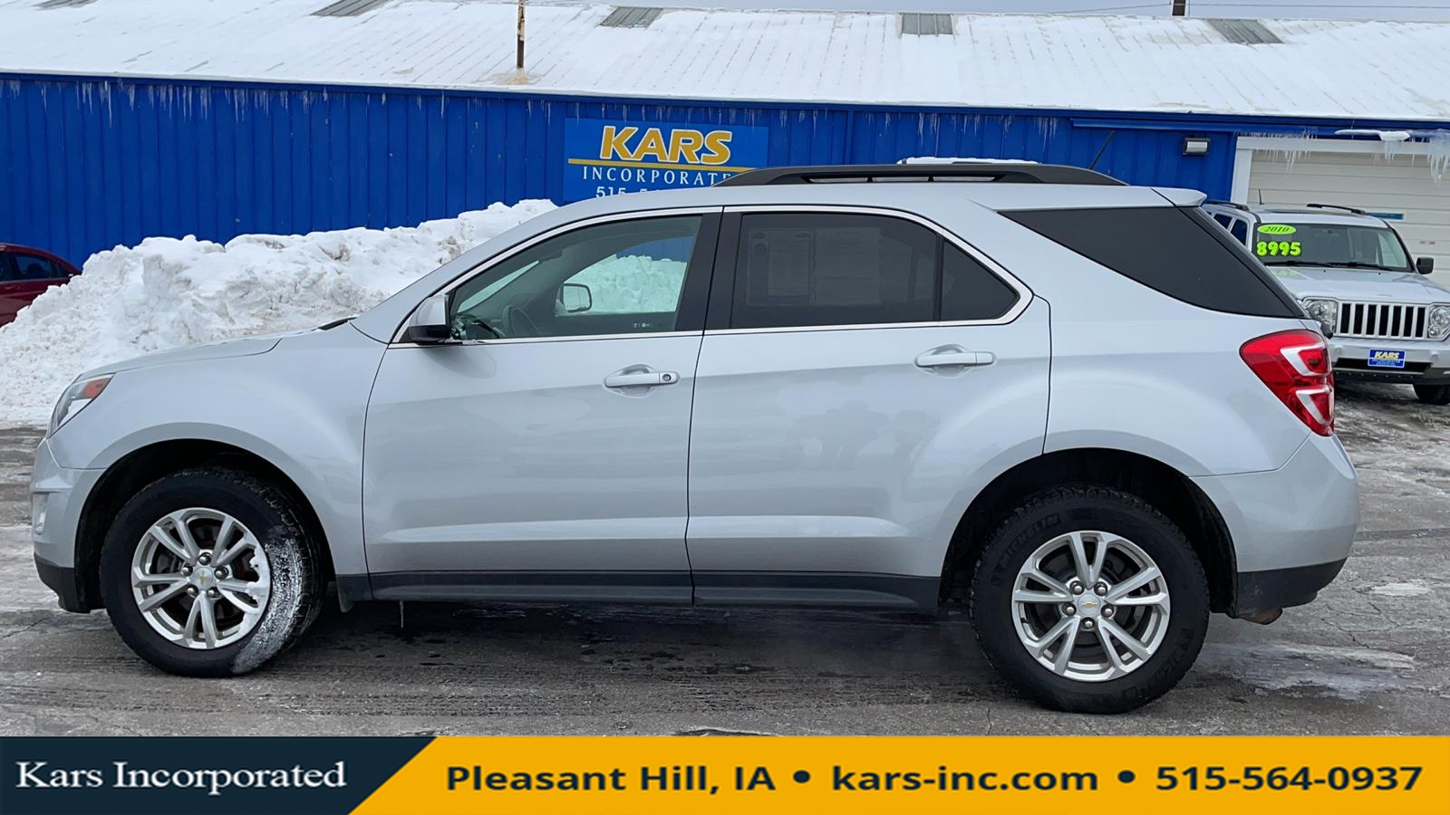 2016 Chevrolet Equinox LT AWD  - G02377P  - Kars Incorporated