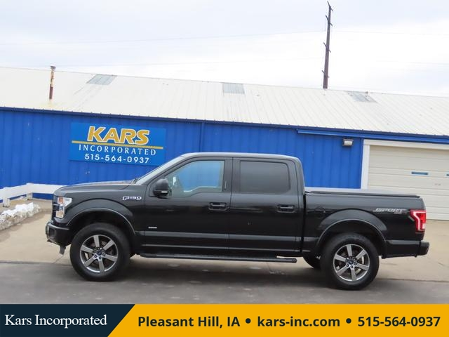 2015 Ford F-150 SUPERCREW 4WD  - F89435P  - Kars Incorporated