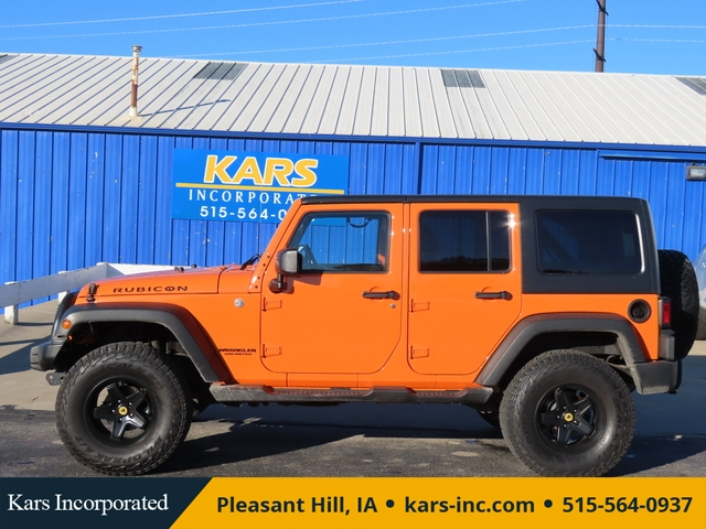 2012 Jeep Wrangler RUBICON 4WD  - C51187P  - Kars Incorporated