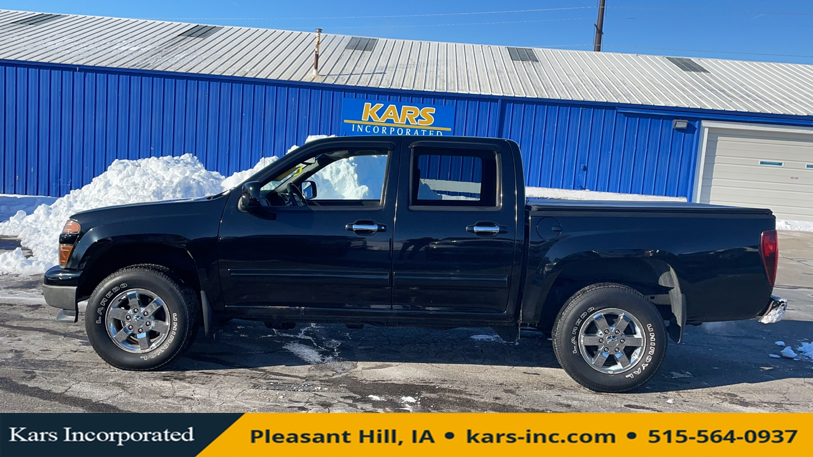 2010 Chevrolet Colorado LT 4WD Crew Cab  - A35033P  - Kars Incorporated
