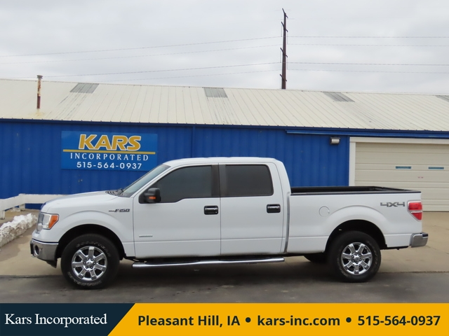 2013 Ford F-150 SUPERCREW 4WD  - D41979P  - Kars Incorporated