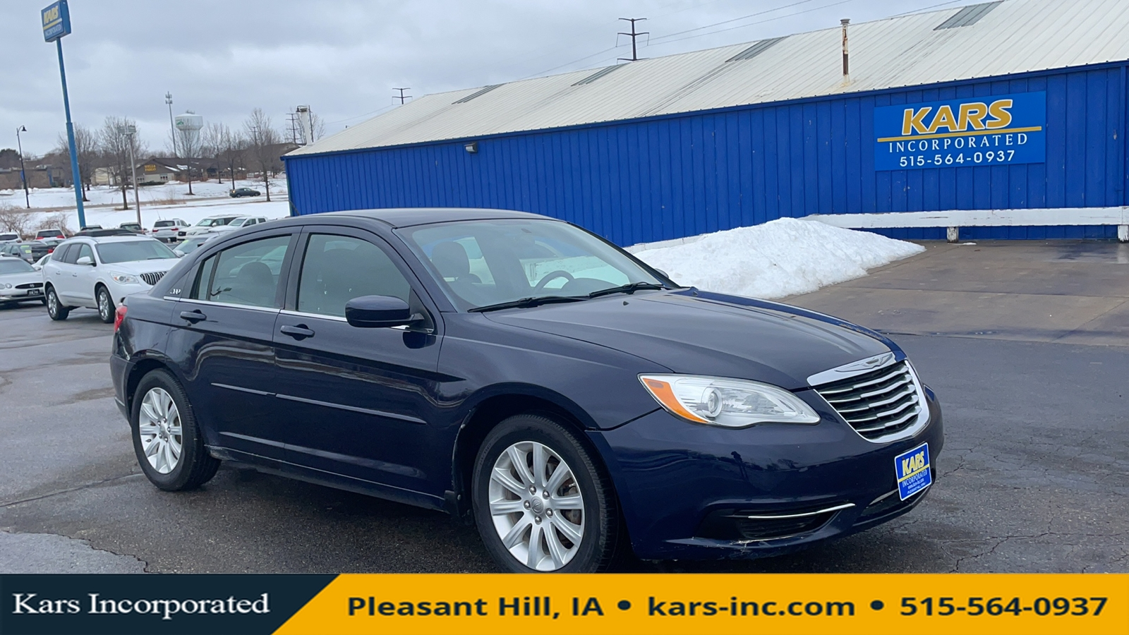 2013 Chrysler 200 TOURING  - D66044P  - Kars Incorporated