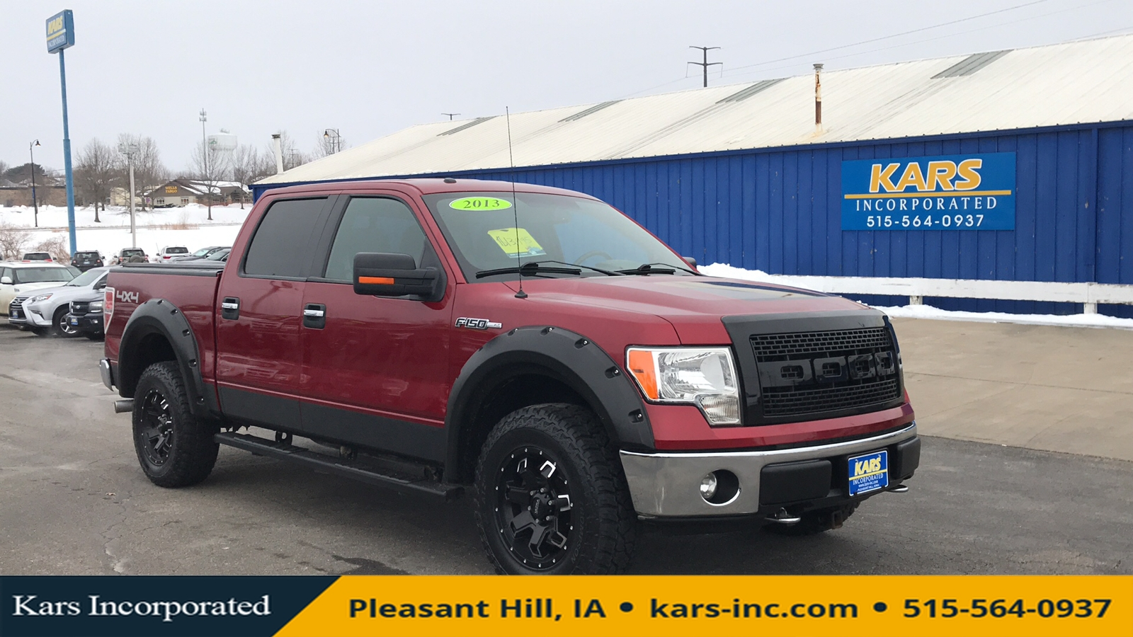 2013 Ford F-150 SUPERCREW 4WD  - D60886P  - Kars Incorporated