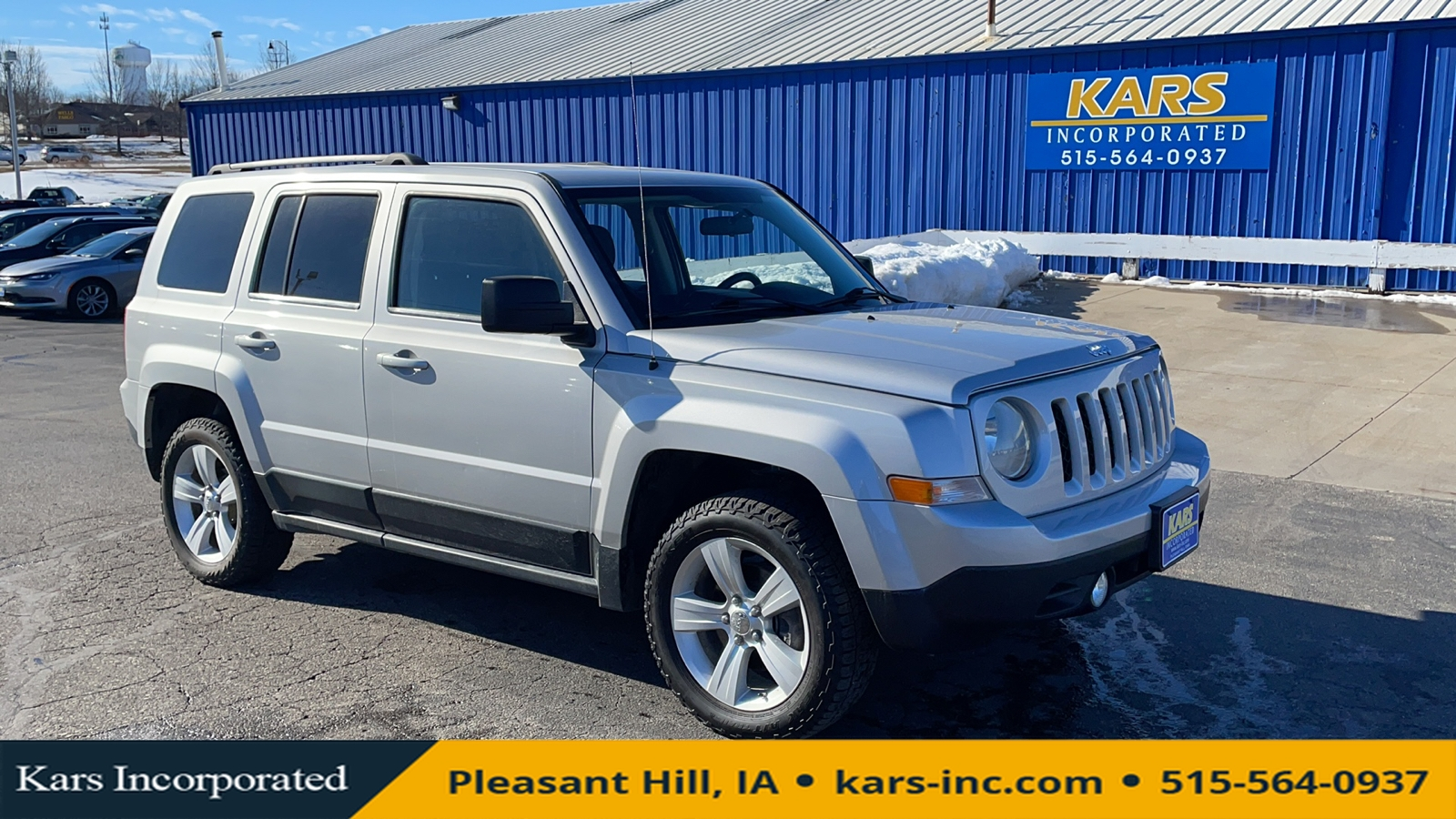 2011 Jeep Patriot SPORT 4WD  - B91937P  - Kars Incorporated
