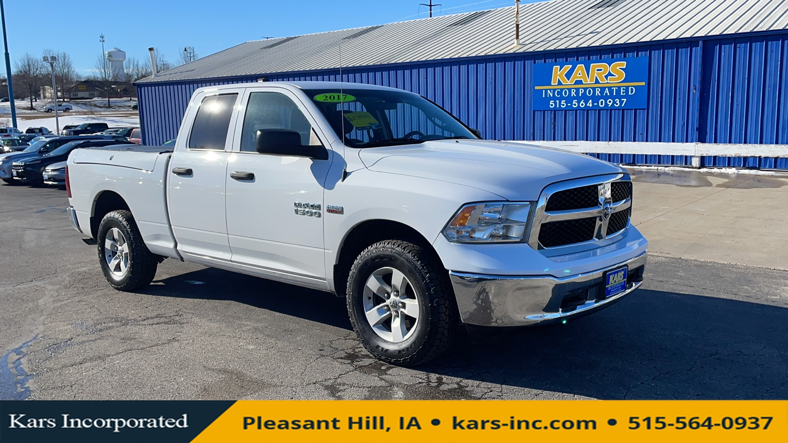 2017 Ram 1500 ST Quad Cab  - H80601P  - Kars Incorporated