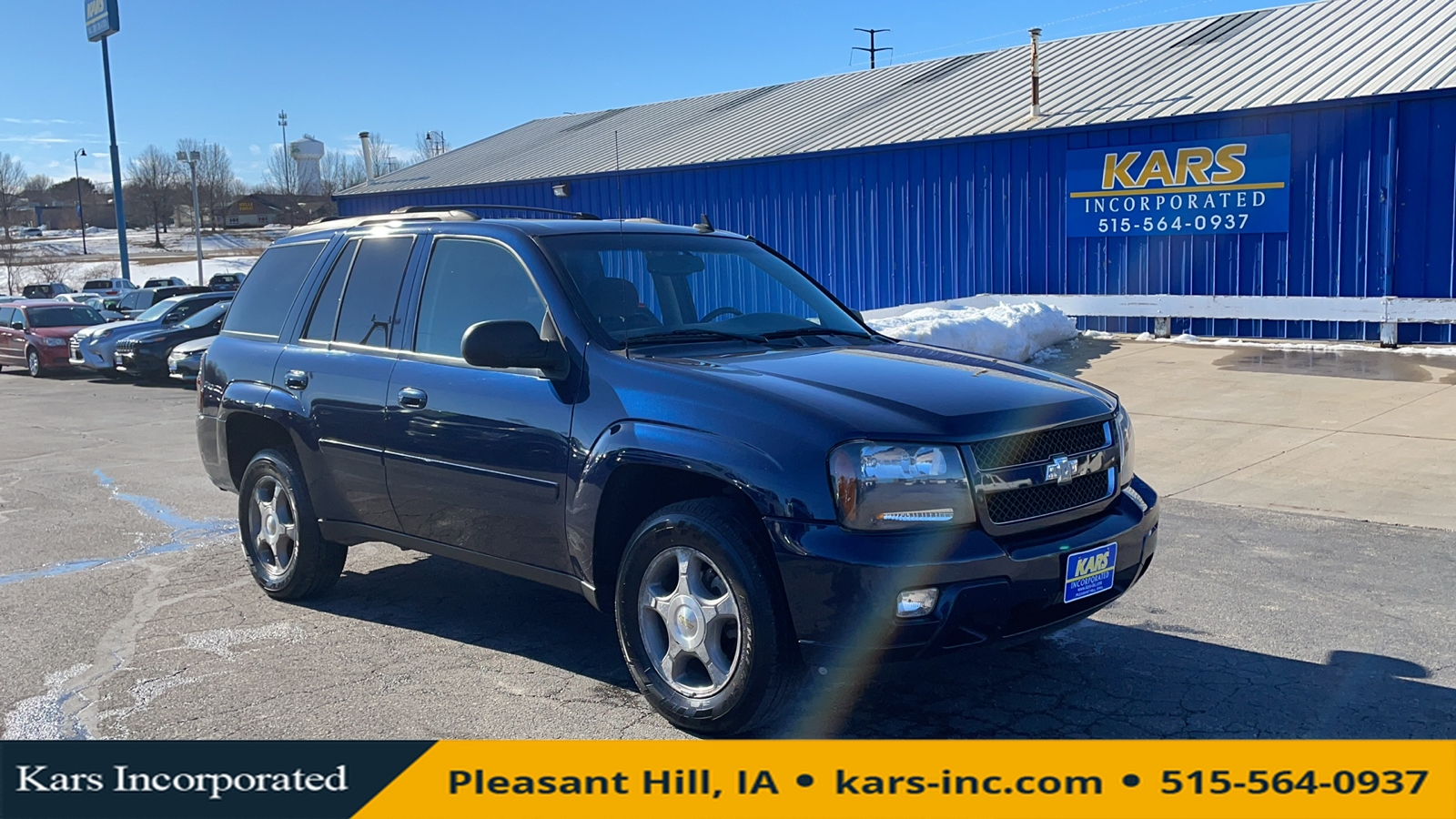 2008 Chevrolet TrailBlazer LS 4WD  - 803906P  - Kars Incorporated