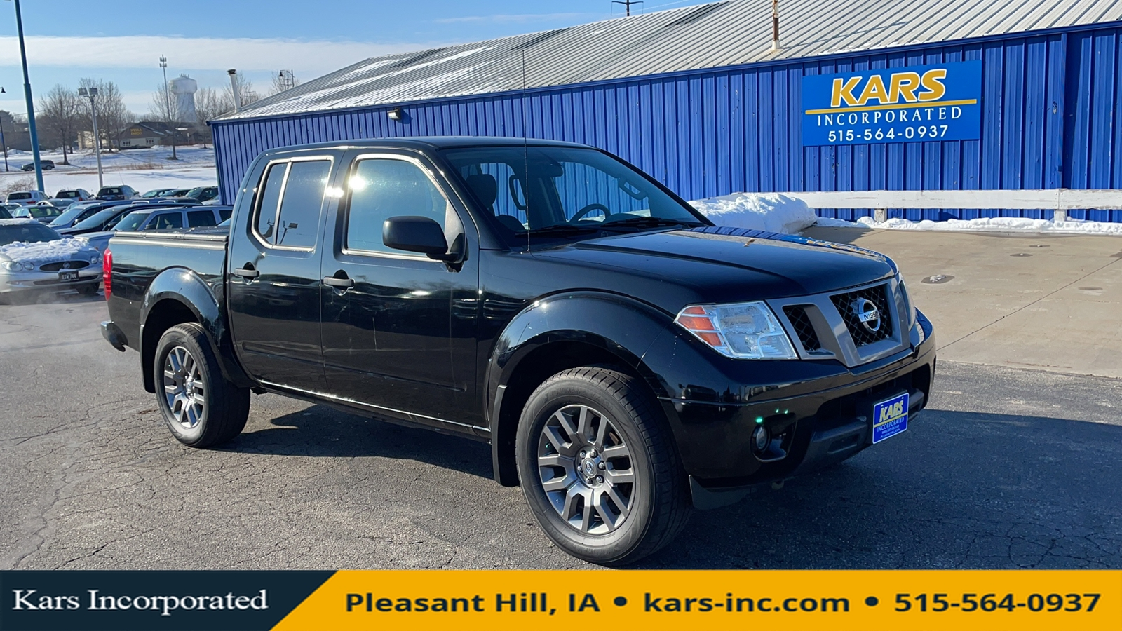 2012 Nissan Frontier S 4WD Crew Cab  - C36625P  - Kars Incorporated