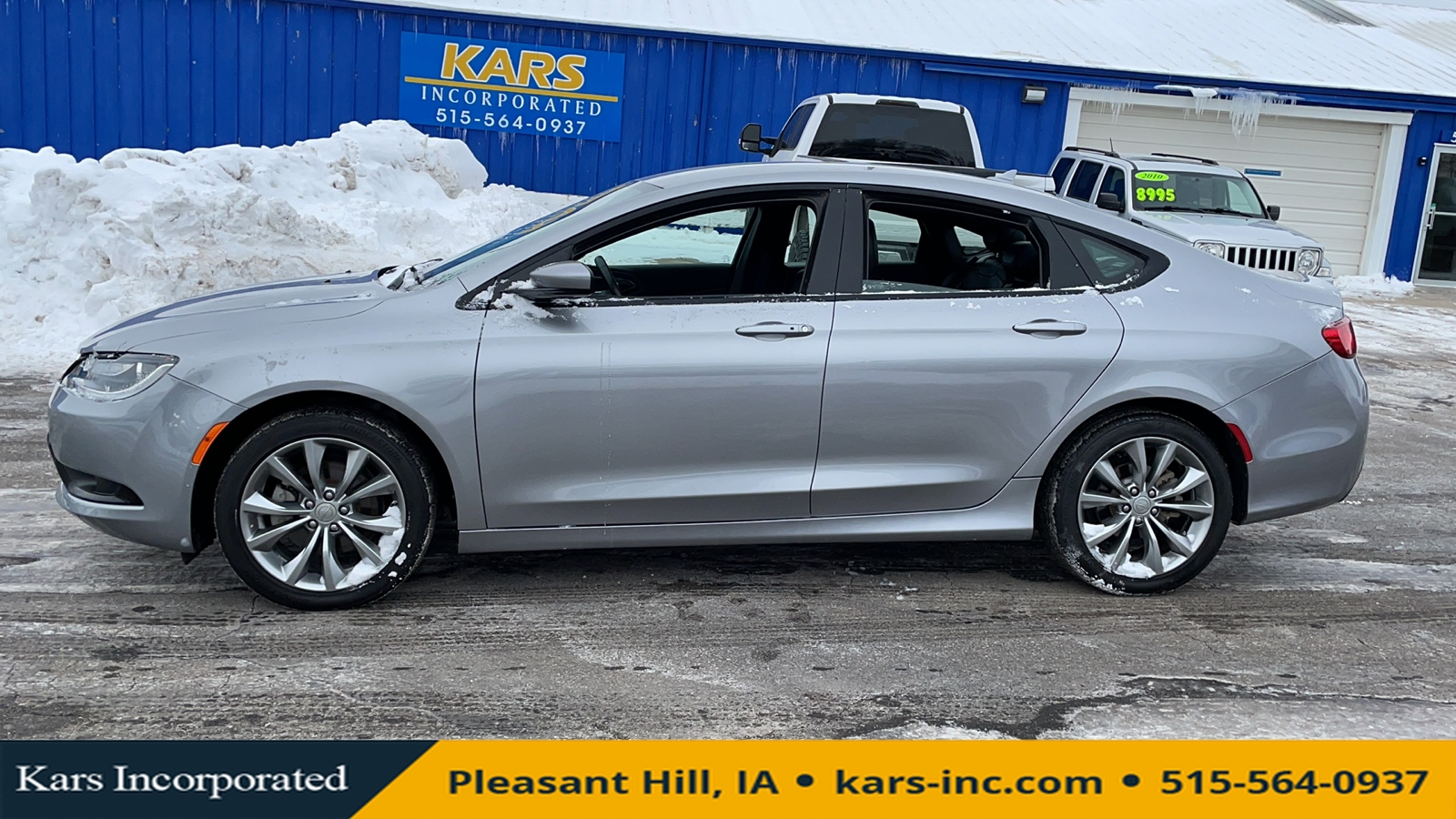 2015 Chrysler 200 S  - F51674P  - Kars Incorporated