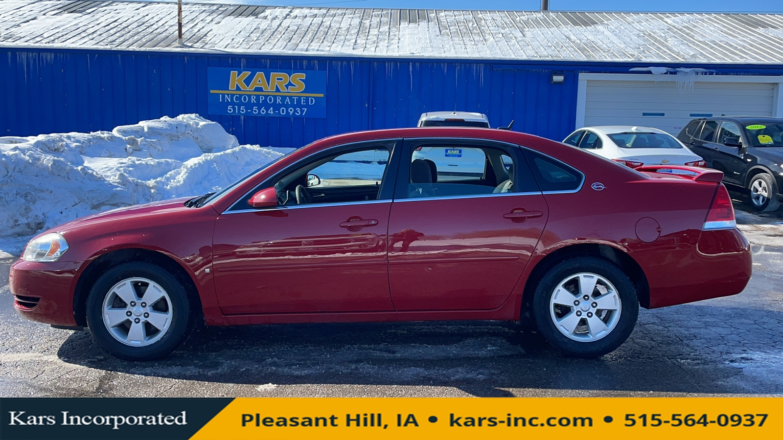 2008 Chevrolet Impala LT  - 813617P  - Kars Incorporated