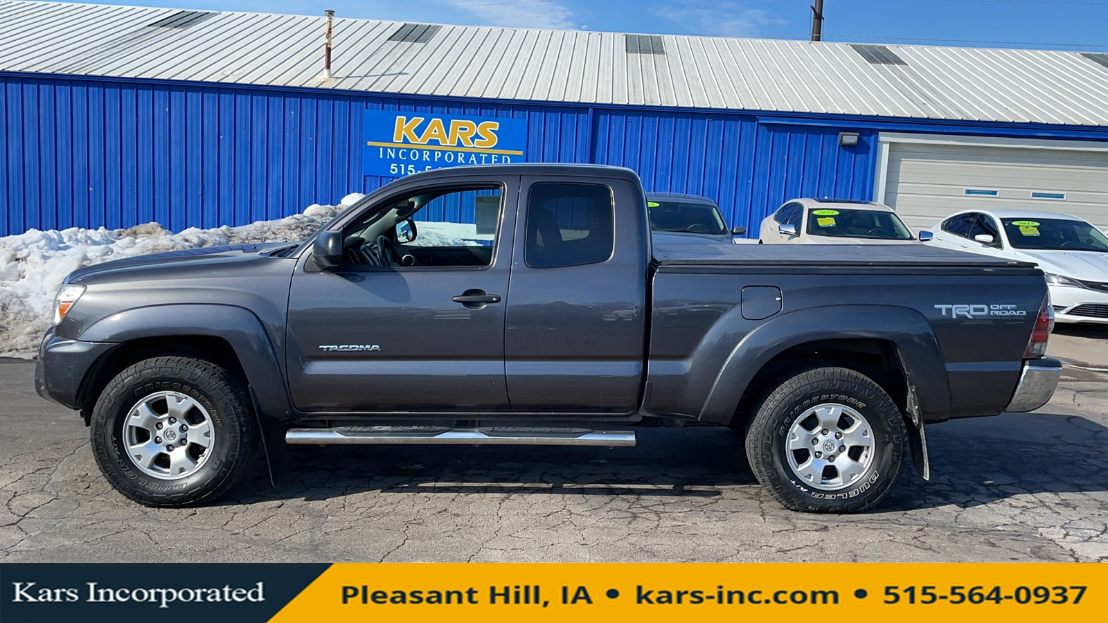 2013 Toyota Tacoma 4WD  - D50715P  - Kars Incorporated