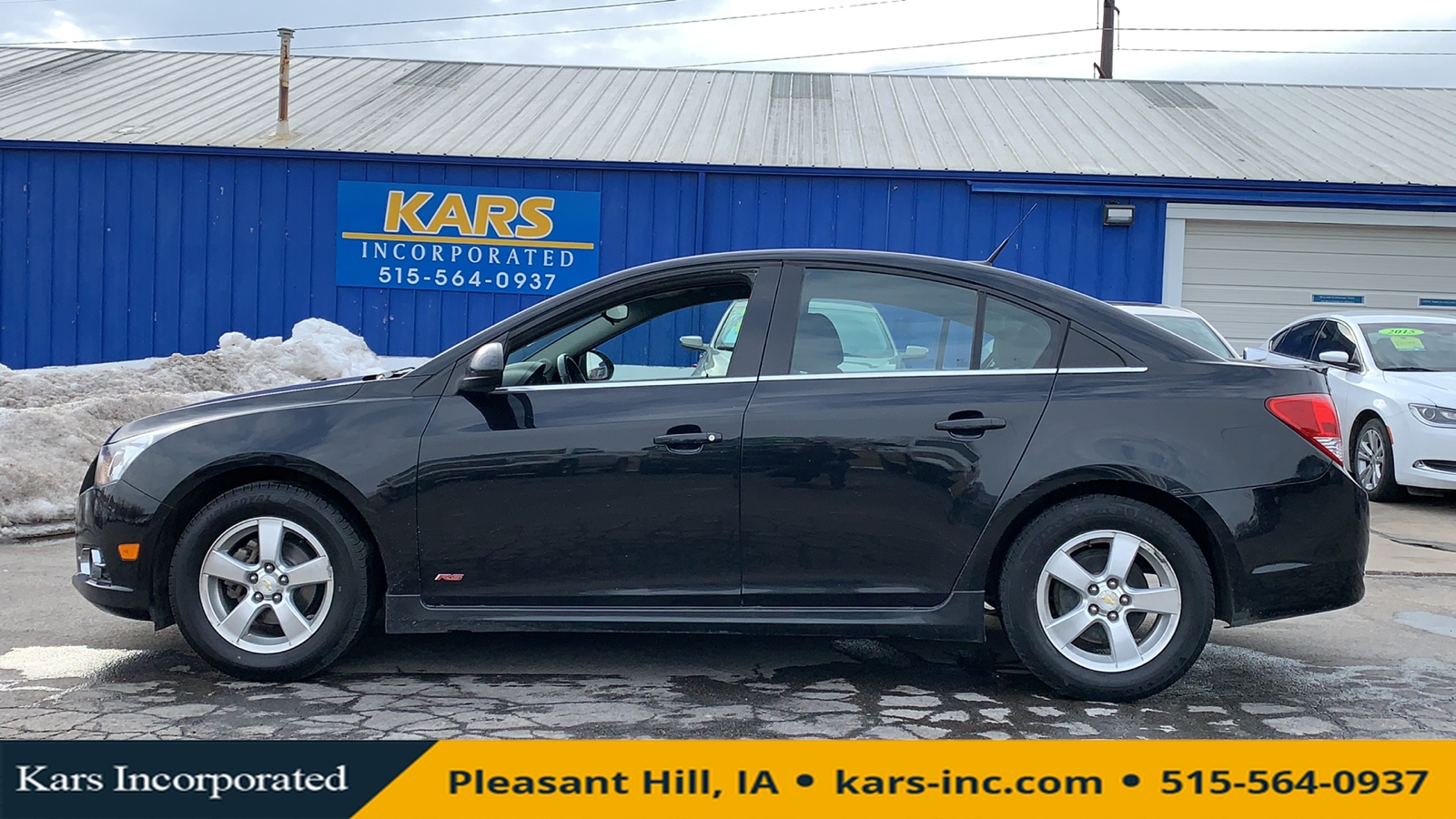 2011 Chevrolet Cruze LT  - B91909P  - Kars Incorporated