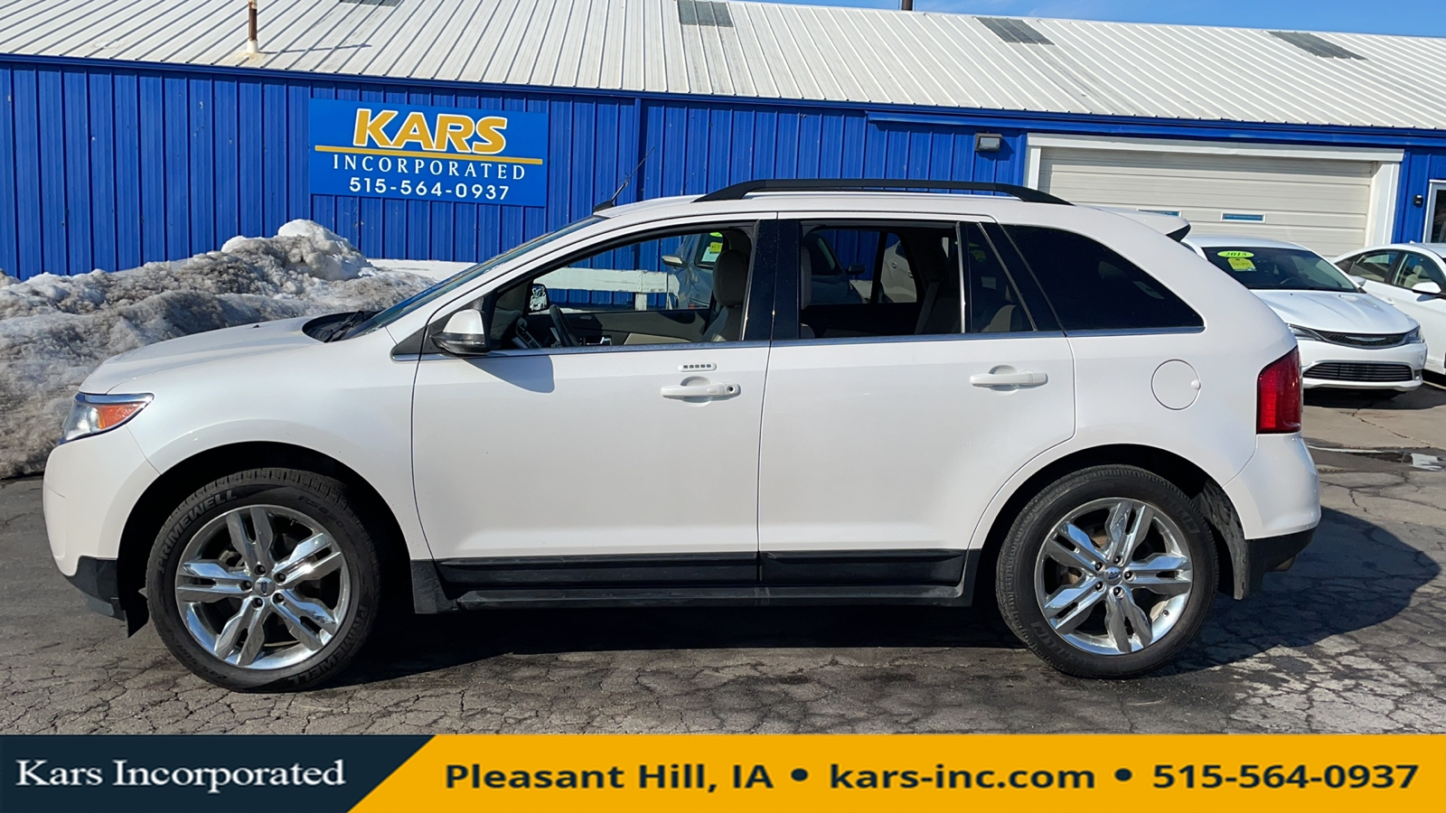 2014 Ford Edge LIMITED  - E33780P  - Kars Incorporated