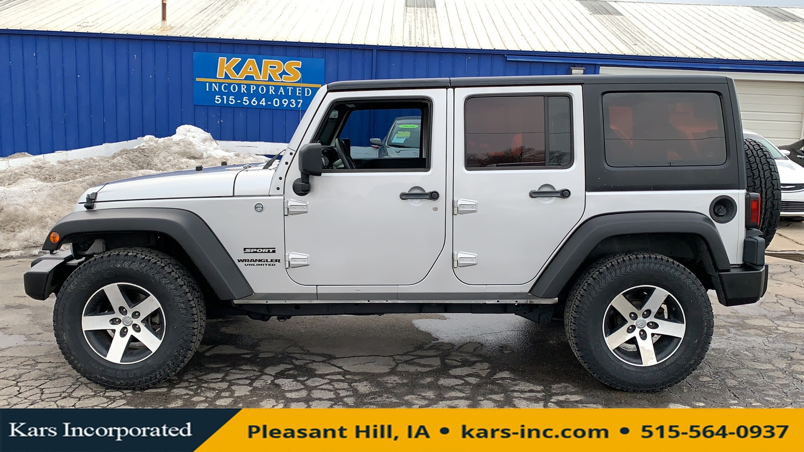 2012 Jeep Wrangler SPORT 4WD  - C13699P  - Kars Incorporated